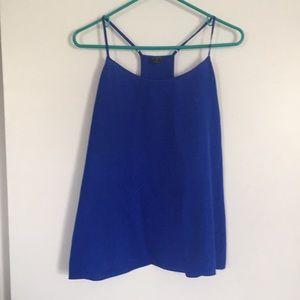 Cobalt blue cami